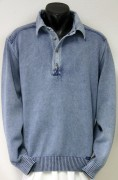 Blue Willis Herren Polo Pullover Iceblau