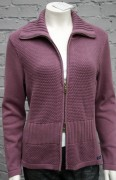 Blue Willis Damen Strickjacke Flieder