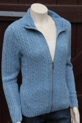 Blue Willis Damen Strickjacke hellblau