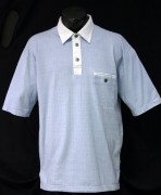 Blue Willis Hr, Poloshirt iceblau