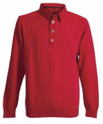 Blue Willis Herren Polo Pullover rot